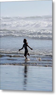 Metal Print featuring the photograph Come As A Child by Holly Ethan