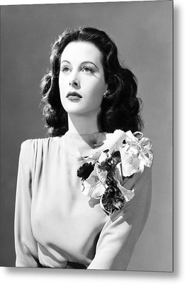 Come Live With Me, Hedy Lamarr, 1941 Metal Print by Everett