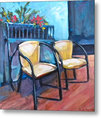 Come Relax Metal Print by Paula Strother