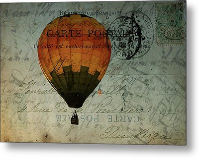 Come Travel The World With Me Metal Print by Christine Annas