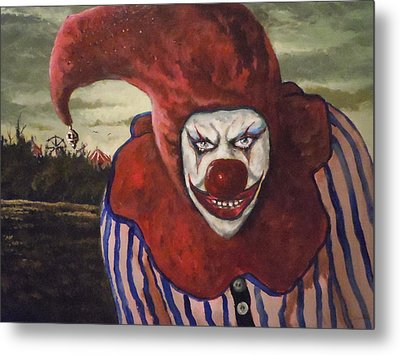 Metal Print featuring the painting Come With Me To The Circus by James Guentner