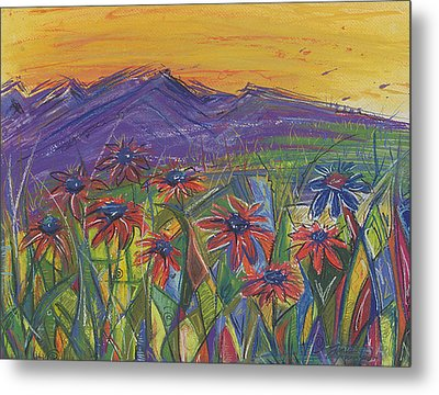 Comfortable Silence Metal Print by Tanielle Childers