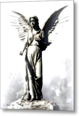 Comforting Angel Metal Print by Dale   Ford