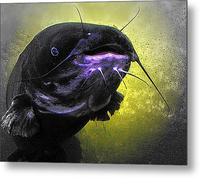 Coming Face To Face Metal Print by Carrie OBrien Sibley