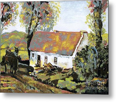 Coming Home Metal Print by Laurel Anderson-McCallum