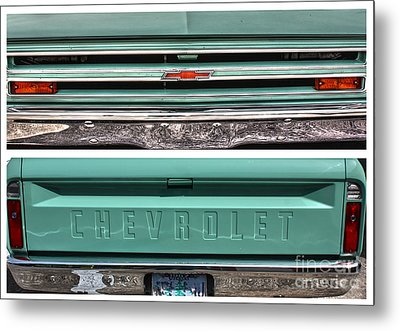 Coming Or Going--still A Chevy Metal Print by David Bearden