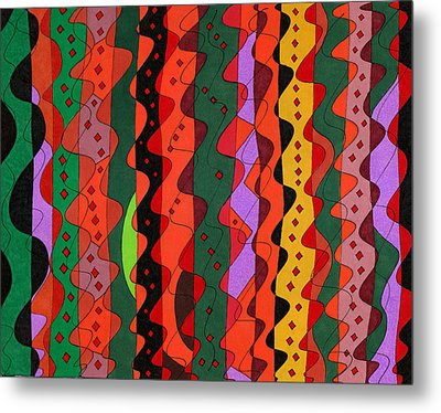 Complications Metal Print by Susan  Epps Oliver