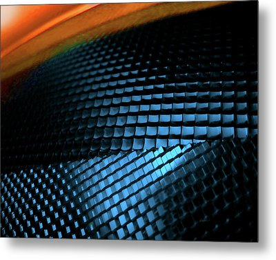 Compound Facets Metal Print by Charles Carlos Odom