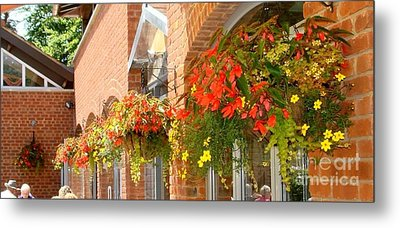 Metal Print featuring the photograph Compton Acre Garden by Katy Mei
