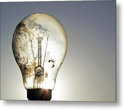 Concept Illumination  Metal Print