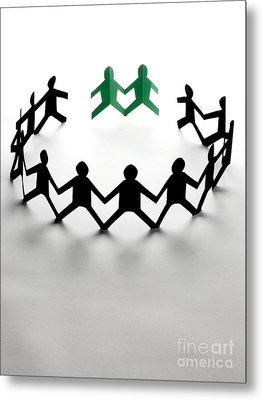 Conceptual Situation Metal Print