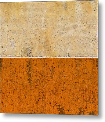 Concrete Landscape Two Metal Print by Steve K