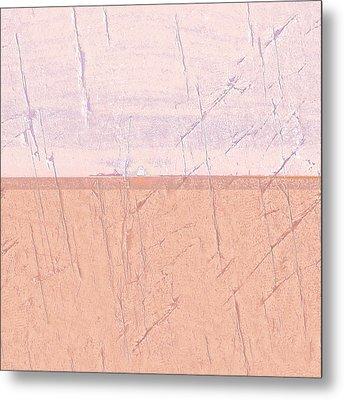 Concrete Seascape One Metal Print by Steve K