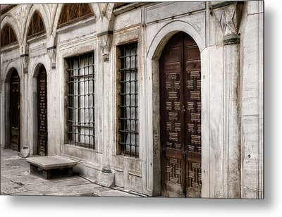 Concubine  Court Metal Print by Joan Carroll