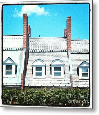 Condos In Portsmouth New Hampshire Metal Print by Christy Bruna