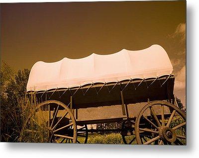 Conestoga Wagon Metal Print by Darren Greenwood