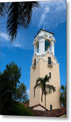 Metal Print featuring the photograph Congregational Church Of Coral Gables by Ed Gleichman