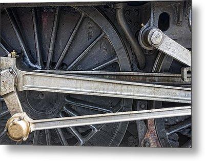 Connecting Rods Of Sir Nigel Gresley Metal Print by John Short