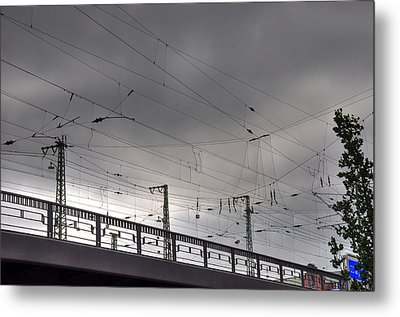 Connections Metal Print by Barry R Jones Jr