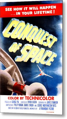 Conquest Of Space, 1955 Metal Print