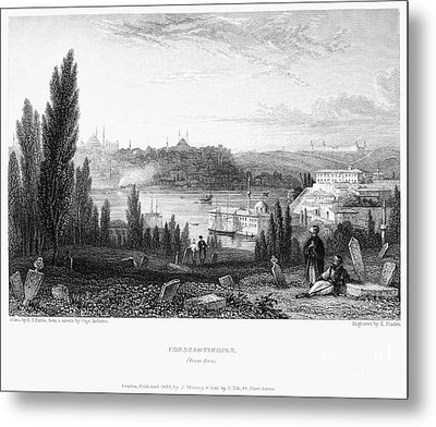 Constantinople, 1833 Metal Print by Granger