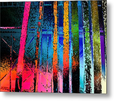 Metal Print featuring the photograph Construct by David Pantuso