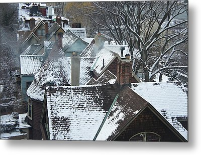 Content Metal Print by Lynn Wohlers