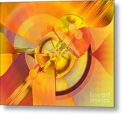 Continuous Color Metal Print