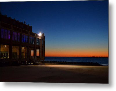 Convention Hall  Asbury Park Metal Print