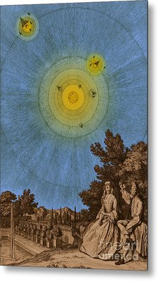 Conversations On The Plurality Metal Print by Science Source