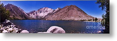 Metal Print featuring the photograph Convict Lake by Gary Brandes