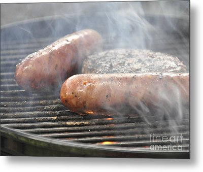 Metal Print featuring the photograph Cookout by Cheryl McClure