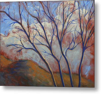 Cool Breeze On A Warm Day Metal Print