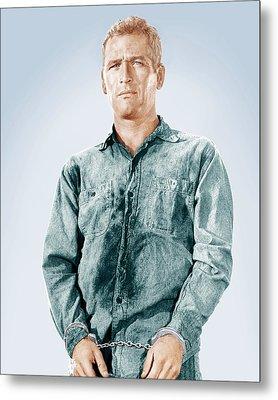 Cool Hand Luke, Paul Newman, 1967 Metal Print by Everett