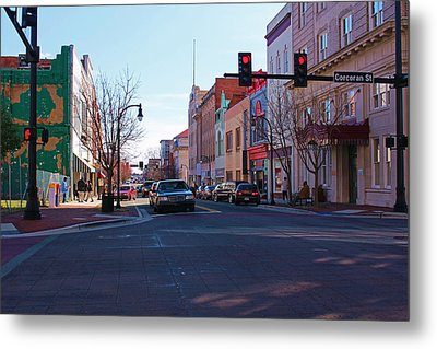 Metal Print featuring the photograph Corcoran And Main  by Bob Whitt