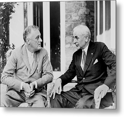 Cordell Hull 1871�1955, Served Metal Print by Everett