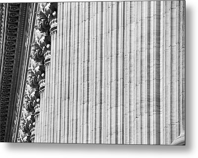 Metal Print featuring the photograph Corinthian Columns by John Schneider