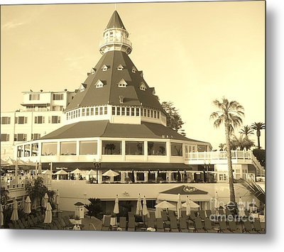 Metal Print featuring the photograph Coronado Hotel by Jasna Gopic
