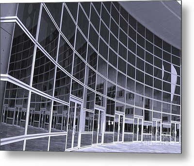 Corporate Building Metal Print by Yali Shi