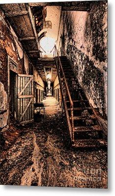 Corridor Creep Metal Print