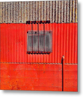 Corrugated Metal Print by Julie Gebhardt