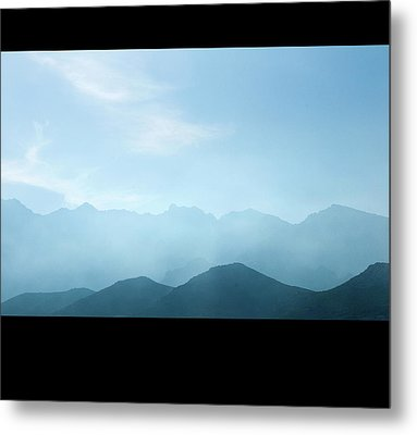 Corsica Mountains Metal Print by Cheminsnumeriques