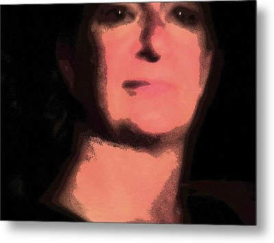 Cosmic Old Master Self Portrait 2 Metal Print