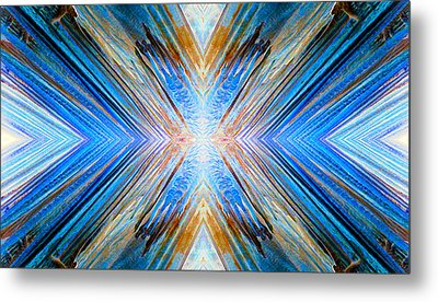 Metal Print featuring the photograph Cosmic Rays by Sandro Rossi