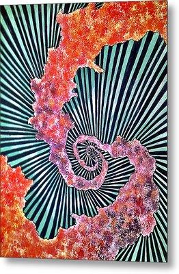 Cosmic Web Metal Print by Russell Barnes