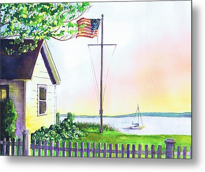 Cottage Orient Ny Metal Print