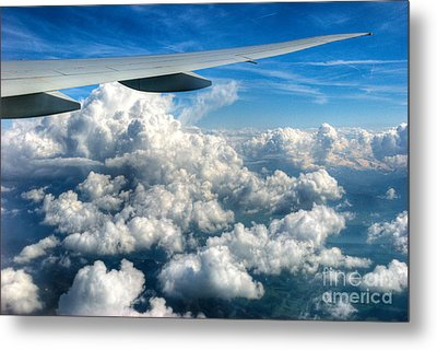 Cotton Balls Metal Print by Syed Aqueel