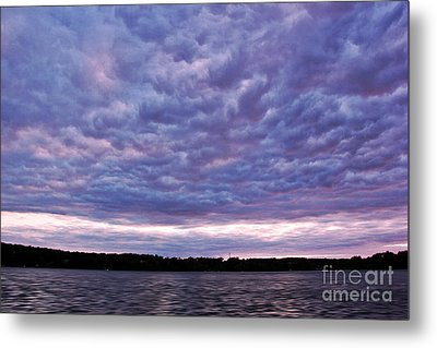 Cotton Candy Clouds Metal Print by Jill Hyland