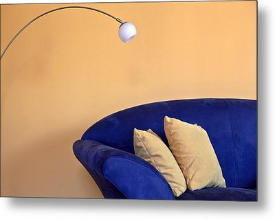 Couch Metal Print by Joana Kruse