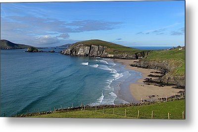 Metal Print featuring the photograph Coumeenole Beach by Barbara Walsh